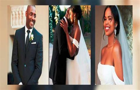 Idris Elba is officially married to Sabrina Dhowre - Oyeyeah