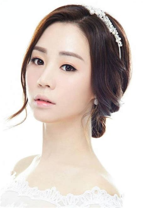 korean wedding hairstyle  image  picture