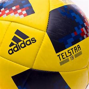 Ball adidas World Cup 18 Colombia Telstar 2017-2018 Yellow ...