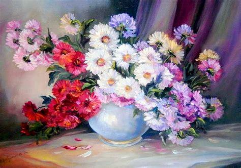 de pinturas famosas de flores