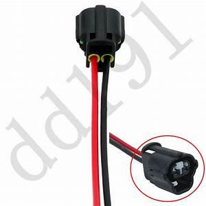 New Alternator Repair Plug Harness Pigtail 2 Pin 2 Wire