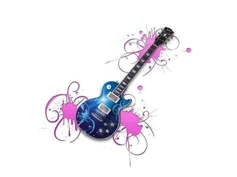 Animated Guitar Wallpaper - country wallpaper clipart panda free clipart images
