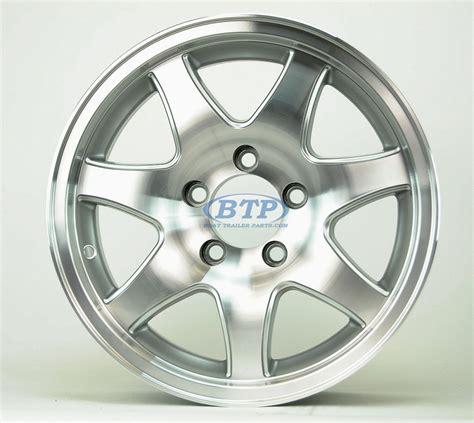 Aluminum Boat Trailer Wheels by Aluminum Boat Trailer Wheel 15 Inch 7 Spoke 5 Lug 5 On 4 1