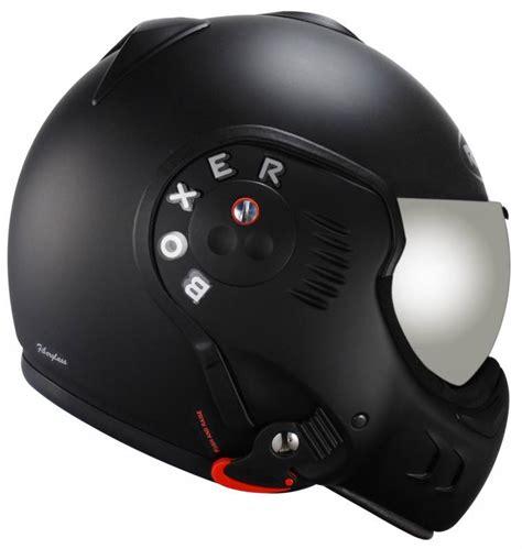 roof boxer v8 full black nior matt motorcycle scooter bike helmet flip open jet ebay
