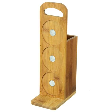 porte ustensiles pots 224 233 pices aimant 233 s bambou