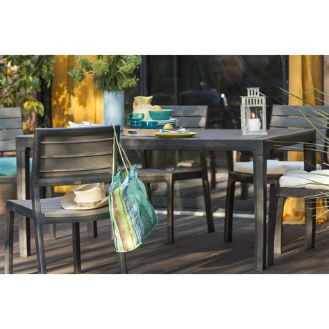 chaise jardin leroy merlin awesome table de jardin plastique gris anthracite photos