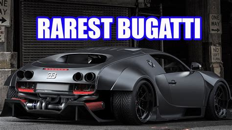 Top 10 Rarest & Most Expensive Bugatti Supercars Ever