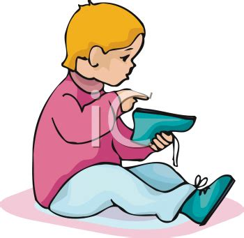 boy putting on shoes clipart shoes clipart 14