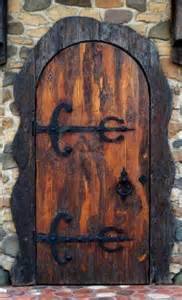 Old-Fashioned Wooden Front Doors
