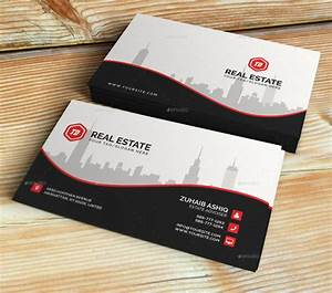 20 real estate business card templates for Real estate business card template