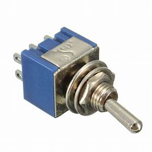 Double Pole Double Throw Dpdt 2 Way Mini Toggle Switch 6