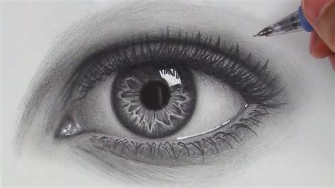 draw hyper realistic eyes step  step youtube