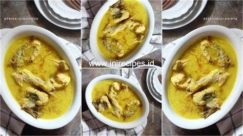 resep membuat opor ayam ala rumah makan gudeg yu nap