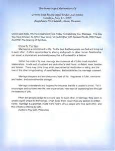 non traditional wedding ceremony 20 traditional wedding vows exle ideas you 39 ll