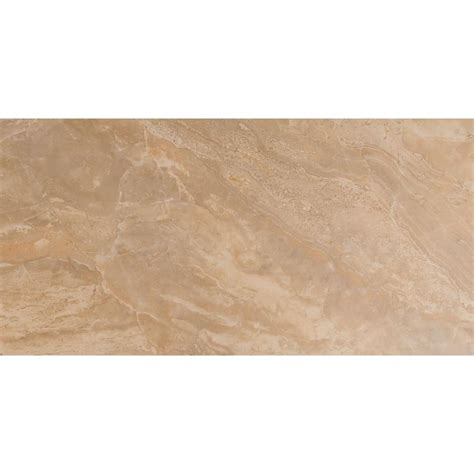 onyx sand 12 in x 24 in glazed porcelain floor and wall