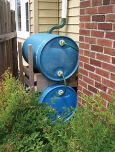 Rain Barrel  A Simple Way To Collect  Save Water