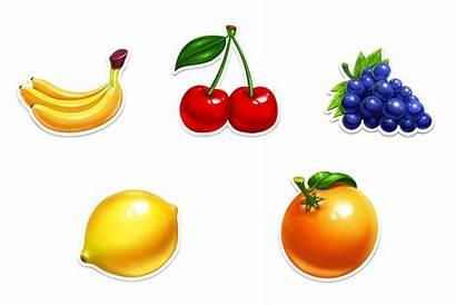 Fruits Machine Slot Crowns Slotopaint Fruit Slots