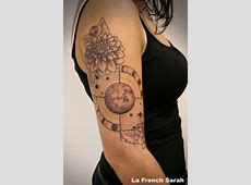 Tatouage Horloge Rose Des Vents Tattooart Hd