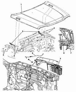 2012 Jeep Liberty Hood  U0026 Related Parts