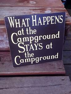 17 best camping signs images on pinterest carpentry With vinyl letters for outdoor signs