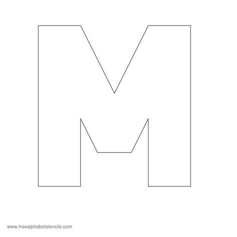 Block Extra Bold Alphabet Stencils | FreeAlphabetStencils.com