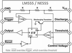 555 Timer Pin Diagram Free Download Wiring Schematic  555