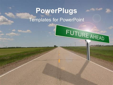 Powerpoint Template Road