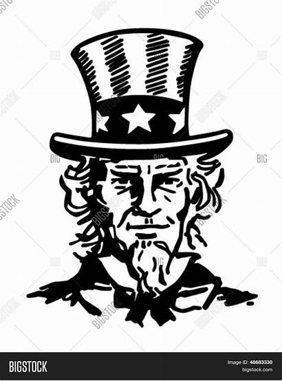 Uncle Sam Drawing Illustration Vector Clip Getdrawings