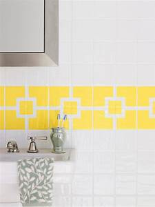 How to paint ceramic tile diy painting bathroom tile for How to paint ceramic tile floor in bathroom