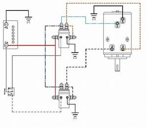Ramsey Winch Wiring Schematic Winch Wiring Diagram Two Solenoid Simple Winch Diagram