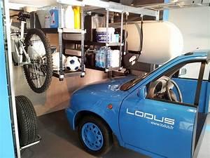 Ranger Garage : lodus 6 m3 de rangement modulable pour garage ~ Gottalentnigeria.com Avis de Voitures