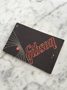 Late 60 U0026 39 S    Early 70 U0026 39 S Gibson Instructions Manual