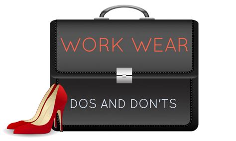 dos wear donts workplace ts don interview dress office code etiquette job room ethics clothing polyvore fashionfriday wearing growing problem