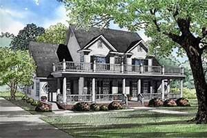 Traditional  Colonial  Country House Plans