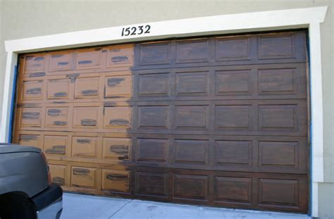 painting garage door panel dwelling exterior design
