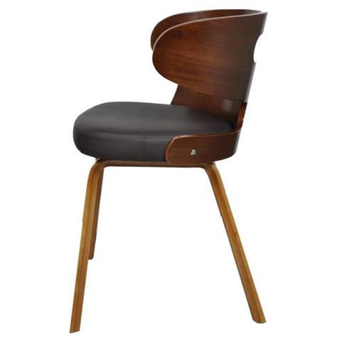 chaises en cuir 4 chaises pas cher 28 images lot de 4 chaises drago