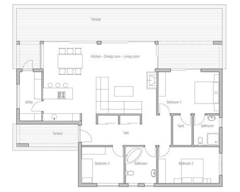 Affordable Home Plans: Economical House Plan CH140