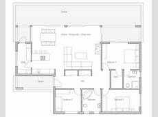 Affordable Home Plans Economical House Plan CH140