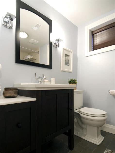 small bathroom   clean  hgtv