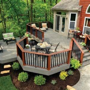 patio designs awesome backyard deck design ideas pk lattest
