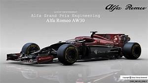 Alfa Romeo F1 : design talent showcase alfa romeo aw30 by olcay tuncay karabulut ~ Medecine-chirurgie-esthetiques.com Avis de Voitures