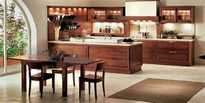 brown kitchen designs With brown and white kitchen designs