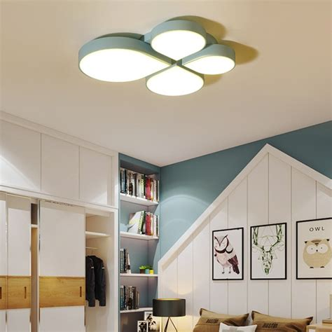 creative leaf led ceiling lamp ceiling light lamparas de