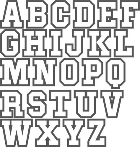 College Block Letter Font