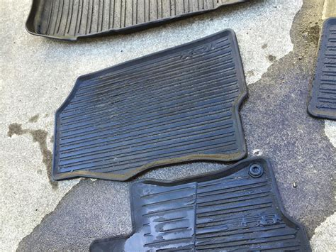 Acura Tsx Floor Mats Oem by Fs Used All Season Floor Mats Oem Acura Tsx Cu2
