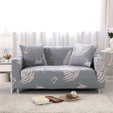 Universal Slipcovers by Universal Slipcovers Sectional Elastic Stretch Sofa Cover