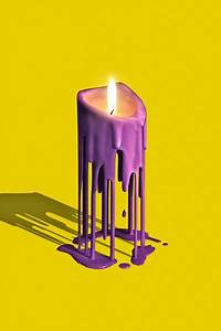 Melted Candles on Behance