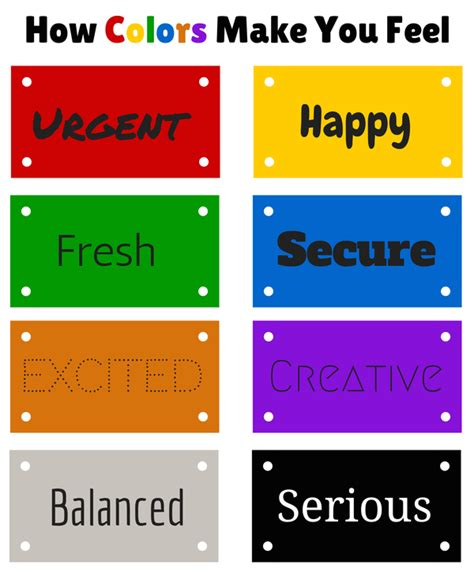 what colors make you feel 10 essential elements of a landing page web design ledger
