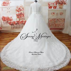 mariage mariage robe de mariee manches longues mariage