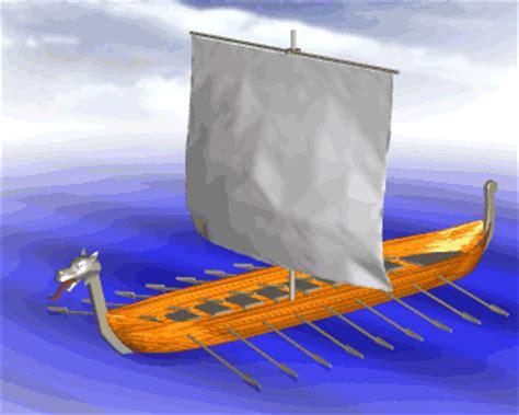 Barco Vikingo Animado by Gifs Animados De Barcos Vikingos Gifmania